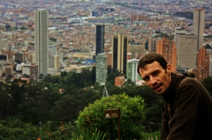Victor bajando Monserrate