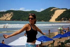 Barracas en Playa de Natal
