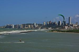 Kitesurfers en Natal