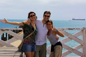 Con Maru y Antonio