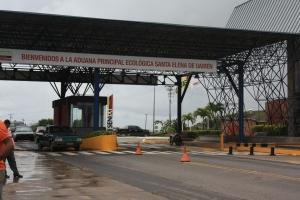 Lado Venezolano Frontera Santa Elena