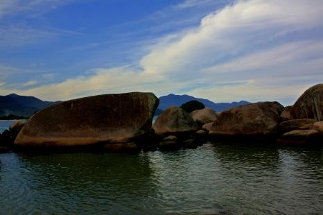 Piscinas naturales playa Trinidade