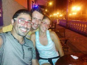 claudio y nosotros en Iquitos