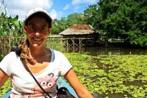 Campamento río Amazonas