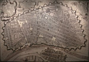 Mapa Lima 1685