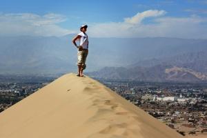 Desde lo alto de la duna