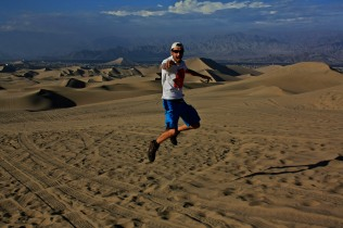 Jumping en el desierto