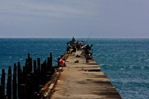 Espigon playa Fortaleza