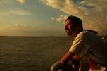 Victor en la desembocadura del Amazonas