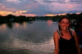 Atardecer en Amazonas