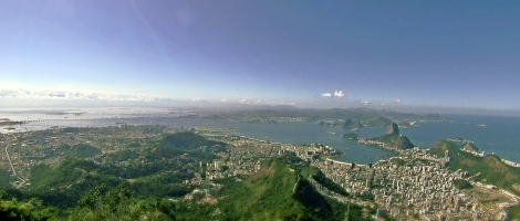 Panoramica Rio de Janeiro desde Cristo