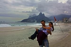 Ruth y Victor en Ipanema