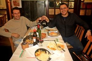 Cena con Sergio