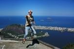 Saltando en Corcovado