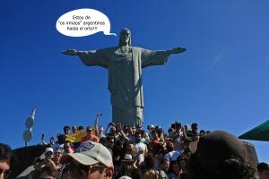 Cristo del Corcovado y los argentinos