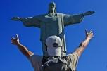 Victor y el Cristo de Corcovado