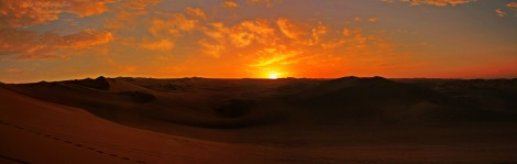 Panoramica Huacachina desert sunset 1 plus