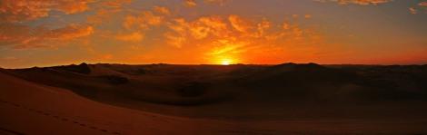 Panoramica Huacachina desert sunset 1 plus