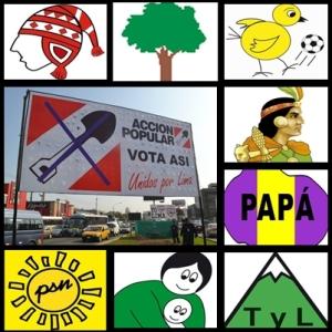 carteles electorales peru Vota Asi