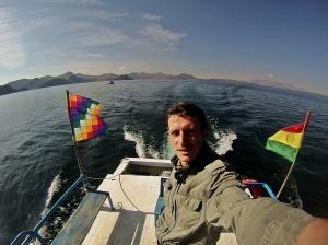 Navegando por el Titicaca