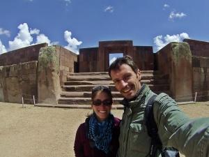 Nosotros en Tiwanaku