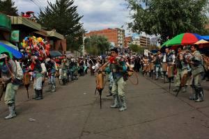 Desfile de mineros