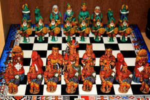 Ajedrez Incas vs Españoles