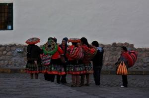 Mujeres andinas