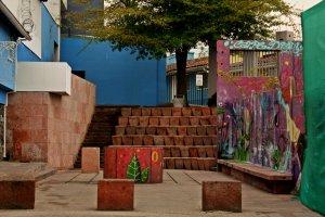 Rincon casa Pablo Neruda en Bellavista