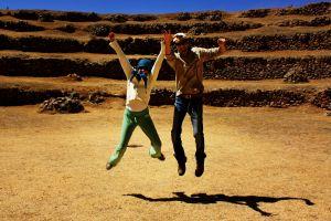 Jumping en Moray