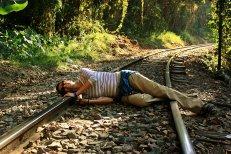 Suicidio en las vías?