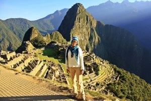 Ruth en Machu Picchu