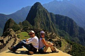 Juntos en Machu Picchu