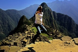 No se puede saltar en Machu Picchu