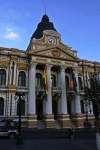 Edificio de Gobernación, La Paz