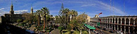 Panoramica Plaza Arequipa