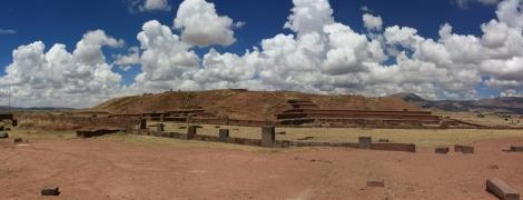 Panoramica Tihuanaco