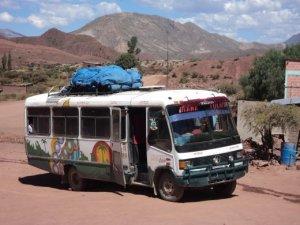Mierda bus a Sucre