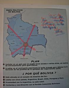 Punto Estrategico Lucha Che en Bolivia