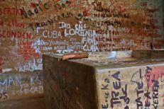 El último habano del Che, Vallegrande, Bolivia