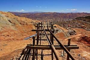 Potosí desde el cerro rico
