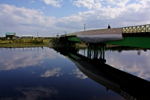 Puente con forma de barco