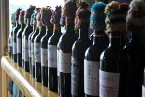 Botellas de vino con encanto