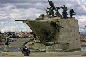 Monumento Goleta Ancud - Punta Arenas
