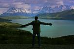 Victor en el PN Torres del Paine