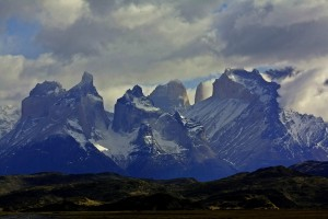 Nubes en Torres del Paine