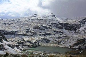 Nevados cerca de La Paz
