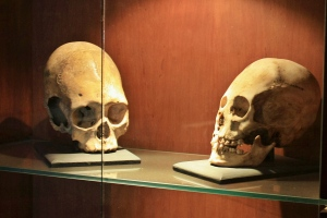 Calaberas pre incas, Museo de Samaipata
