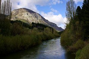 Vistas del río Coyhaique