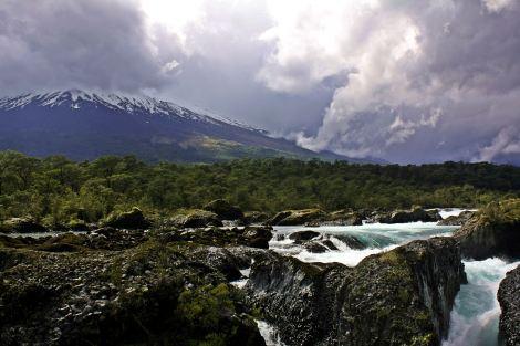 Salto del Petrohue y Volcan Osorno